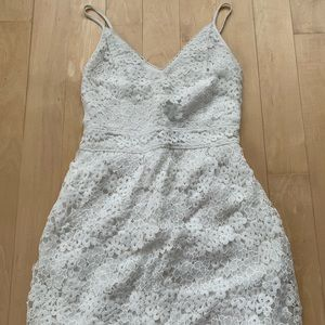 Abercrombie and Fitch Lace Flower Dress